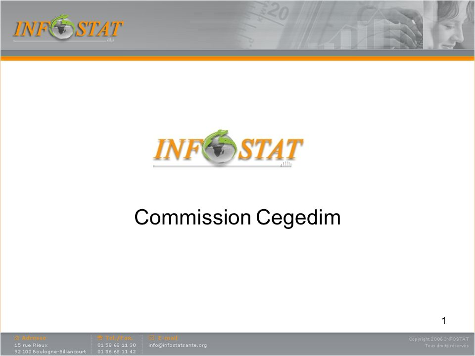 1 Commission Cegedim