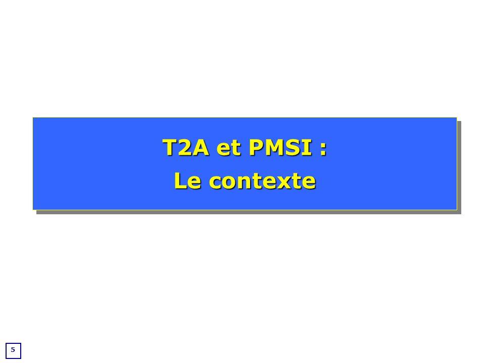 6 Historique Début des années 70 : Mise en place dun outil dallocation budgétaire aux US (Fetter) Milieu des années 80 : importation du système en France par Jean de Kervasdoué (DH) MCO : mise en place dans le Public et expérimentations dans le Privé 1994 : MCO public - obligation de fournir les informations 1997 : MCO privé – obligation de fournir les informations 1998 : SSR - mise en place du PMSI dans le public 2001 : SSR - Mise en place du PMSI dans le privé 2002 : Psychiatrie - Mise en place du PMSI 2004 : MCO – Mise en place de la T2A Historique