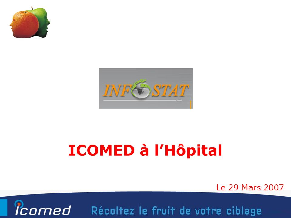1 ICOMED à lHôpital Le 29 Mars 2007