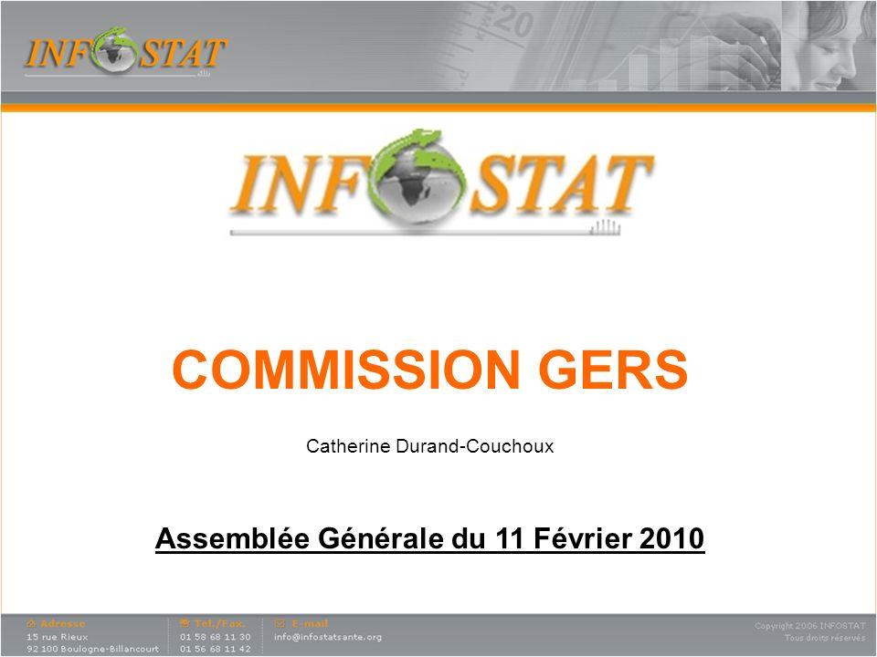 COMMISSION GERS Catherine Durand-Couchoux Assemblée Générale du 11 Février 2010
