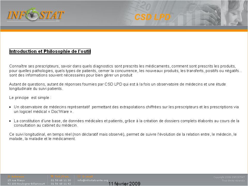 11 février 2009 CSD LPD