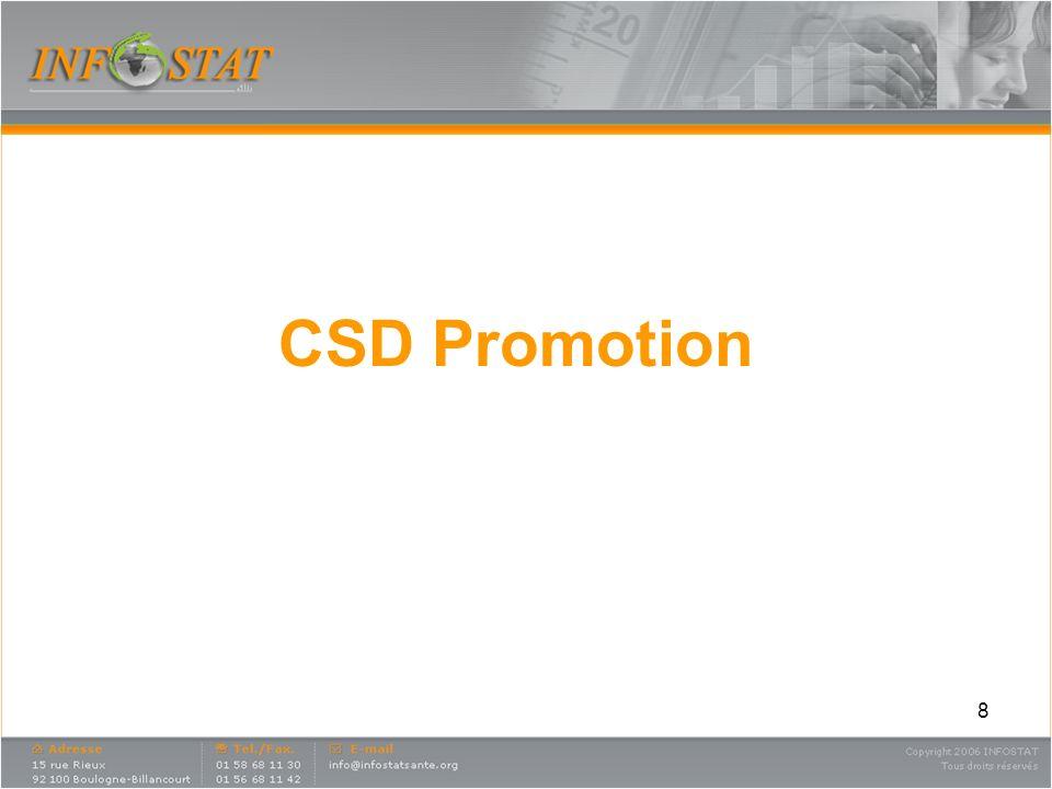 8 CSD Promotion