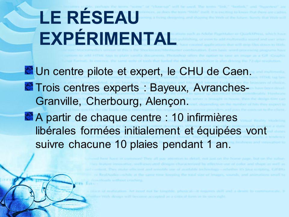 LE RÉSEAU EXPÉRIMENTAL Un centre pilote et expert, le CHU de Caen.