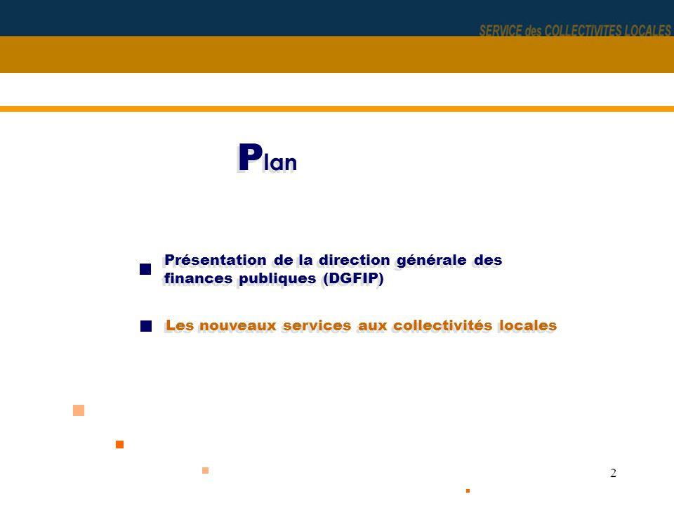 3 Présentation de la DGFIP Un meilleur service pour les usagers Un meilleur service aux collectivités locales Les objectifs de la fusion