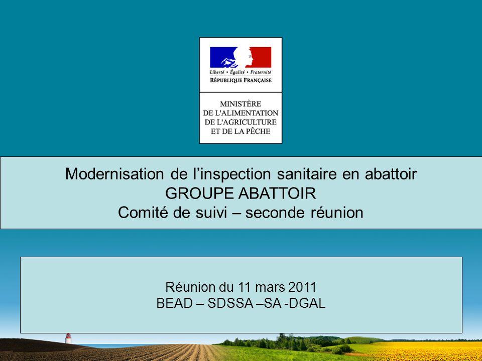 Organisation de la journée 10h-10h30: Jean Luc ANGOT : ouverture de la journée – résumé de la première réunion du Comité de suivi du 22/09/10- présentation des études et travaux en cours.