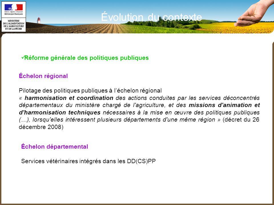 Échelon régional Pilotage des politiques publiques à léchelon régional « harmonisation et coordination des actions conduites par les services déconcen