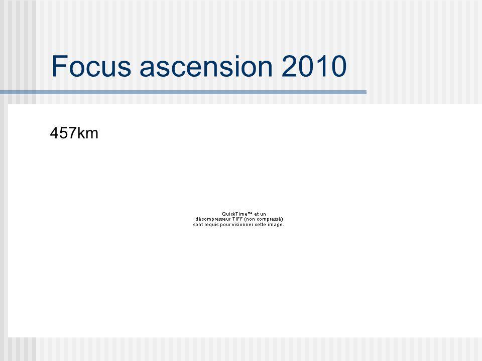 Focus ascension 2010 457km