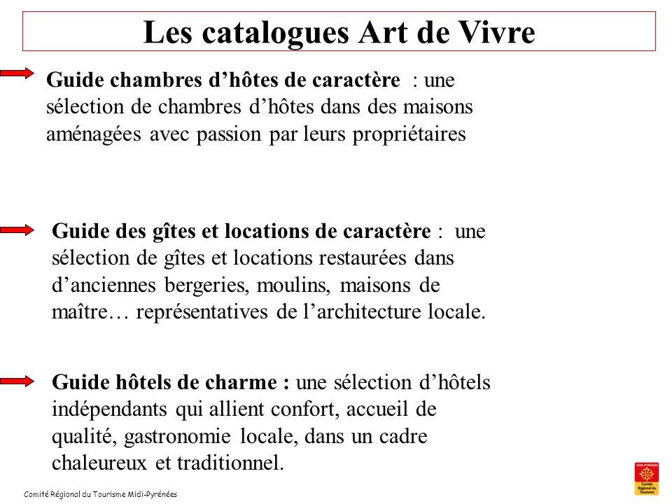 Comité Régional du Tourisme Midi-Pyrénées Les catalogues Art de Vivre Guide chambres dhôtes de caractère : une sélection de chambres dhôtes dans des m