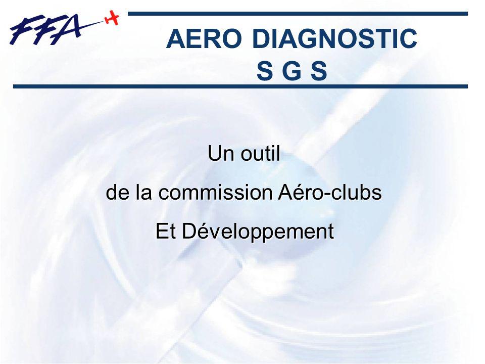 AERO DIAGNOSTIC S G S Un outil de la commission Aéro-clubs Et Développement