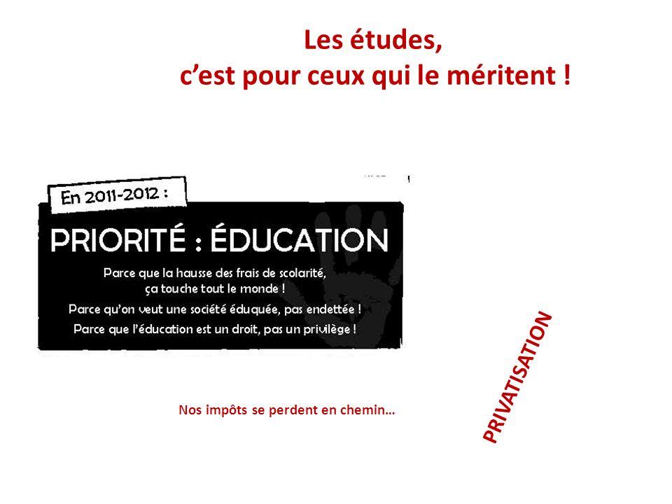 La gratuité scolaire, cest une utopie.