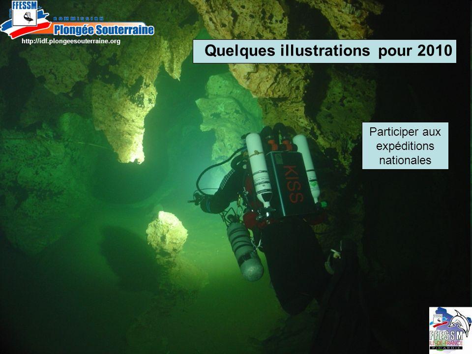 http://idf.plongeesouterraine.org Quelques illustrations pour 2010 Participer aux expéditions nationales