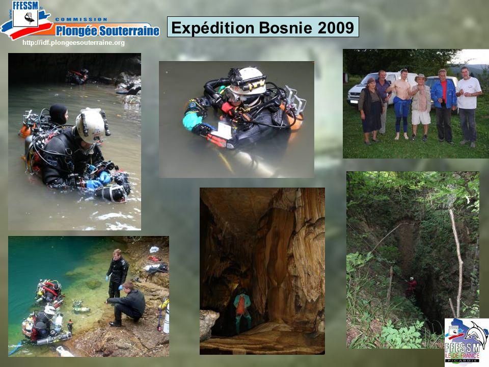 Expédition Bosnie 2009 http://idf.plongeesouterraine.org