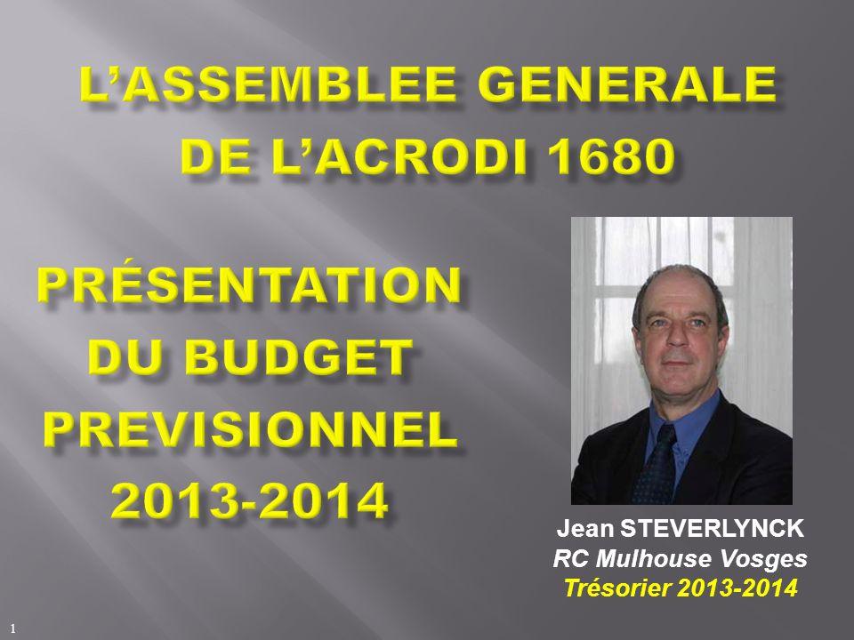 1 Jean STEVERLYNCK RC Mulhouse Vosges Trésorier 2013-2014