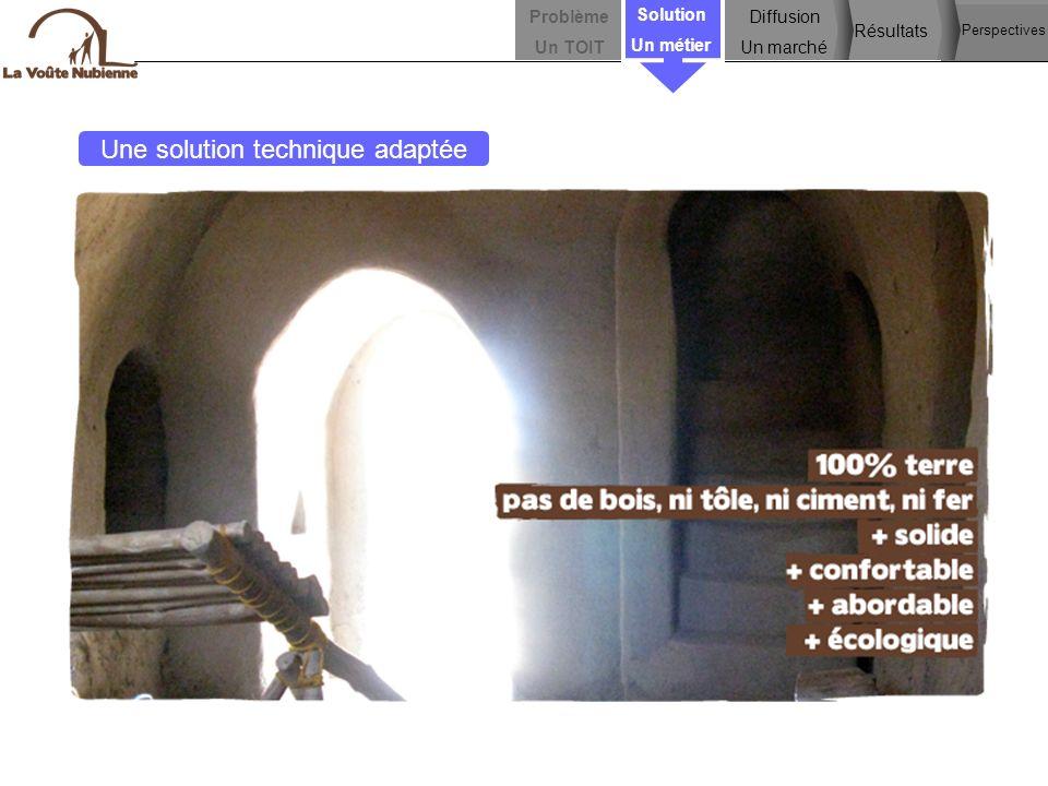 ProblèmeSolutionVulgarisation « la Voûte Nubienne est à ce jour le meilleur programme au monde dans son domaine » Satprem Maïni, chaire UNESCO darchitecture de terre « Les effets de levier générés par la Voûte Nubienne en font une des initiatives les plus innovantes au profit des populations sahéliennes» Arnaud Mourot, DG Ashoka France « … une initiative impressionnante… » Muhammad Yunus – Prix Nobel de la paix 2006 Modèle Economique