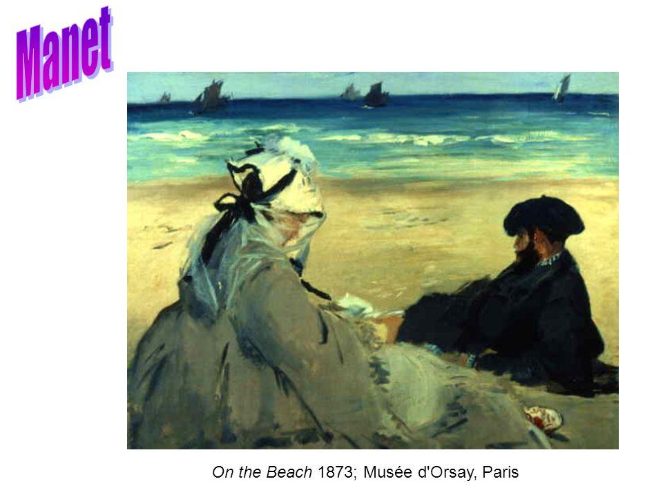 On the Beach 1873; Musée d'Orsay, Paris