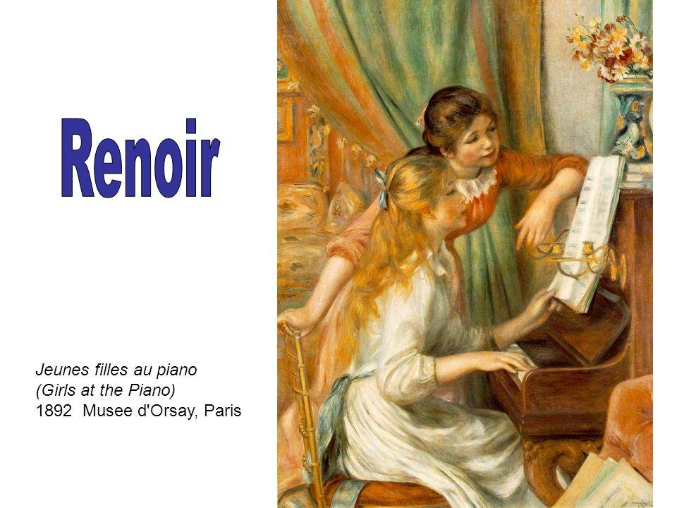 Jeunes filles au piano (Girls at the Piano) 1892 Musee d'Orsay, Paris