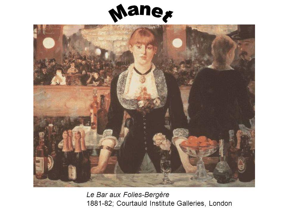 Le Bar aux Folies-Bergère 1881-82; Courtauld Institute Galleries, London