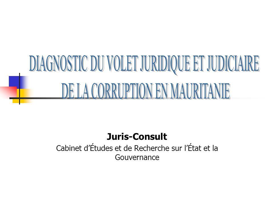 Juris-Consult Cabinet dÉtudes et de Recherche sur lÉtat et la Gouvernance