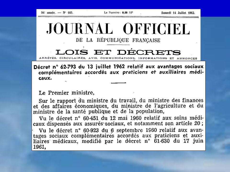 CARMF - 02/ 06 3 ASV : obligatoire ? Référendum 1972 Inscrits : 46 742 Votants :28 924 (61,8 %)