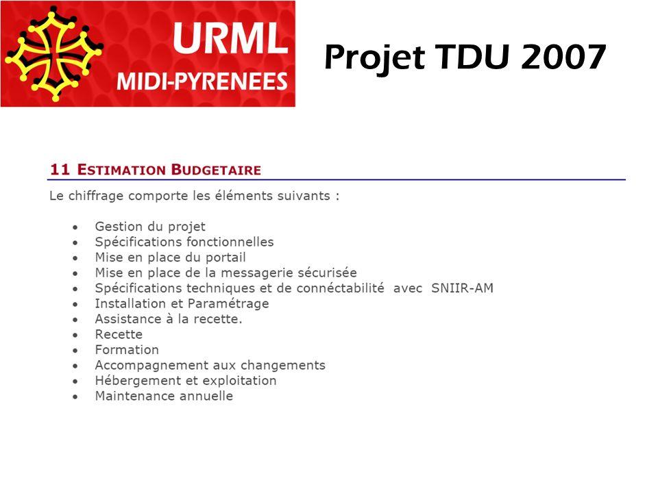 Projet TDU 2007
