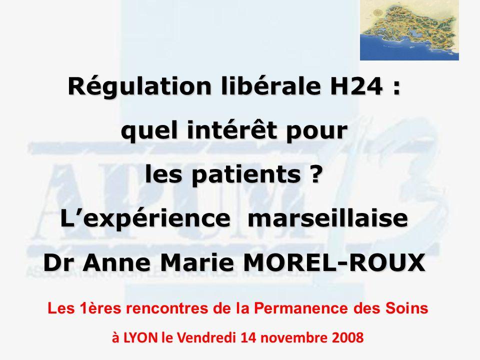 Régulation libérale H24 : quel intérêt pour les patients .