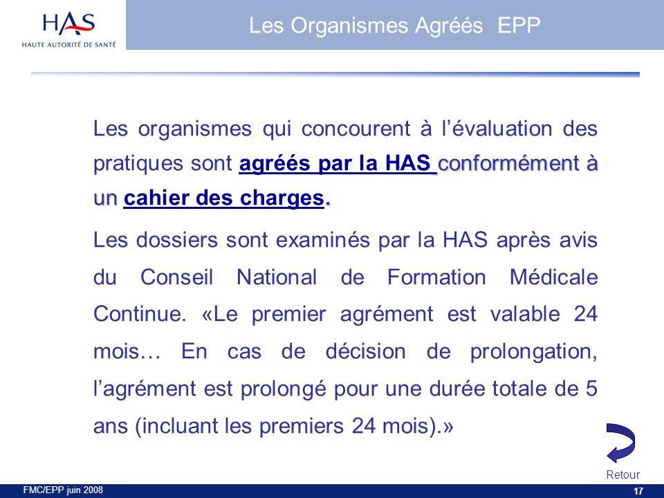FMC/EPP juin 2008 17 conformément à un.
