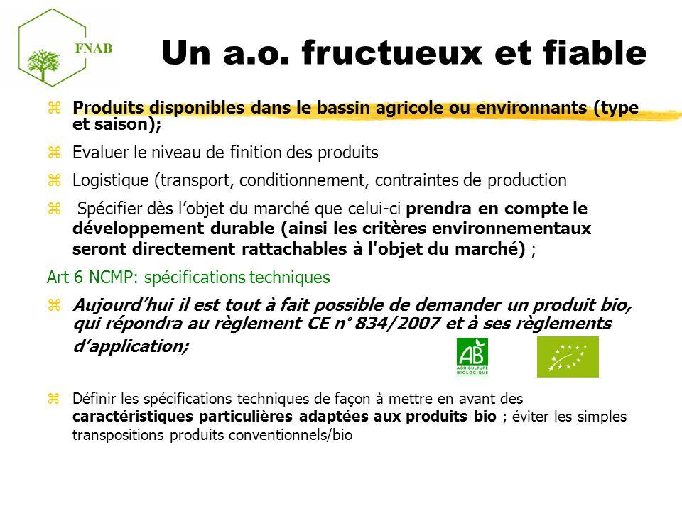 Produits disponibles dans le bassin agricole ou environnants (type et saison); Evaluer le niveau de finition des produits Logistique (transport, condi
