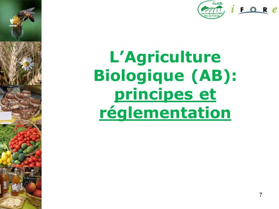 7 LAgriculture Biologique (AB): principes et réglementation