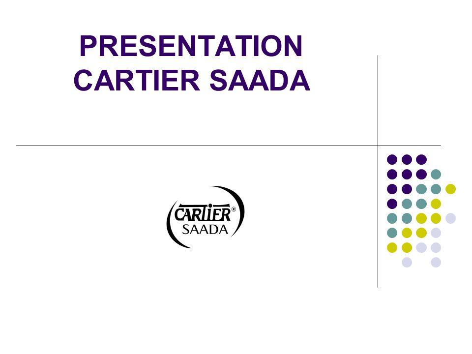 PRESENTATION CARTIER SAADA