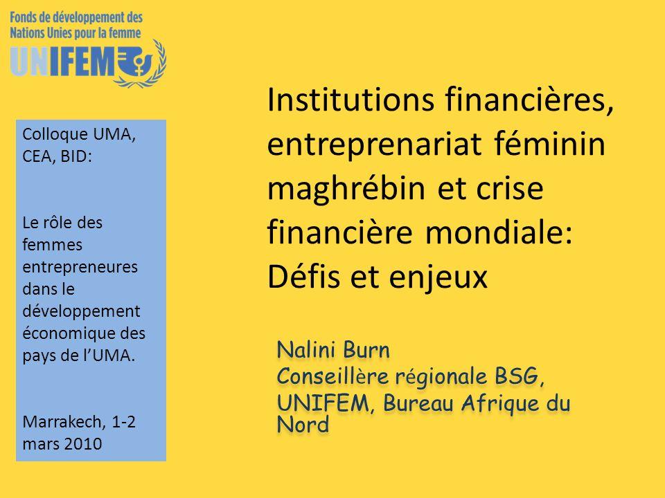 Plan de la présentation Les crises économiques et financières: sources Les crises économiques et financières: impacts genre.
