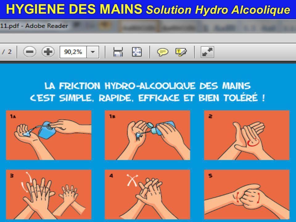Port de gants Ne dispense pas du lavage ni de la désinfection des mains.