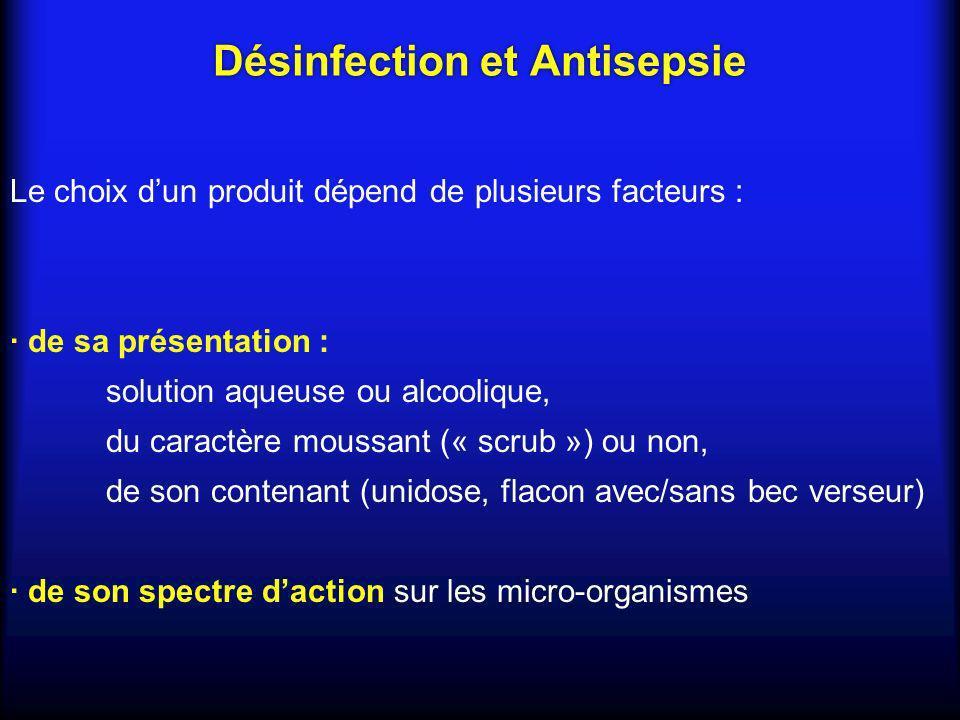 · de son contexte dutilisation : peau saine, muqueuse · Tolérance et de lexistence dallergie ou dintolérance · Application antérieure dun autre produit : Mélanges sont interdits même gamme de produits Désinfection et Antisepsie