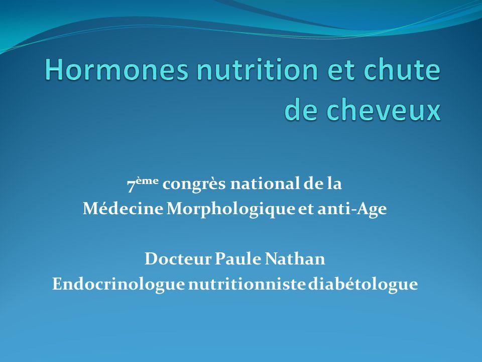 7 ème congrès national de la Médecine Morphologique et anti-Age Docteur Paule Nathan Endocrinologue nutritionniste diabétologue