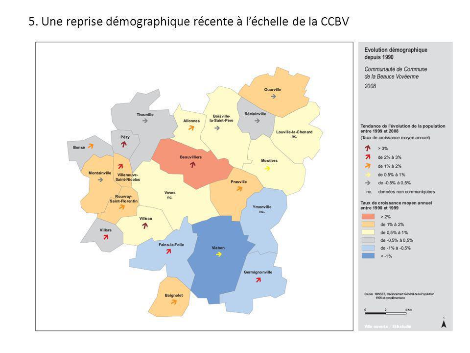 5. Une reprise démographique récente à léchelle de la CCBV
