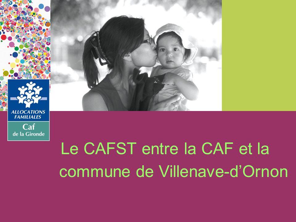 Le CAFST entre la CAF et la commune de Villenave-dOrnon