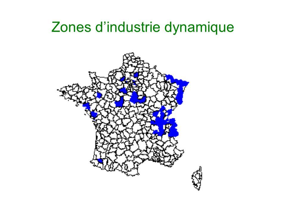 Zones dindustrie dynamique