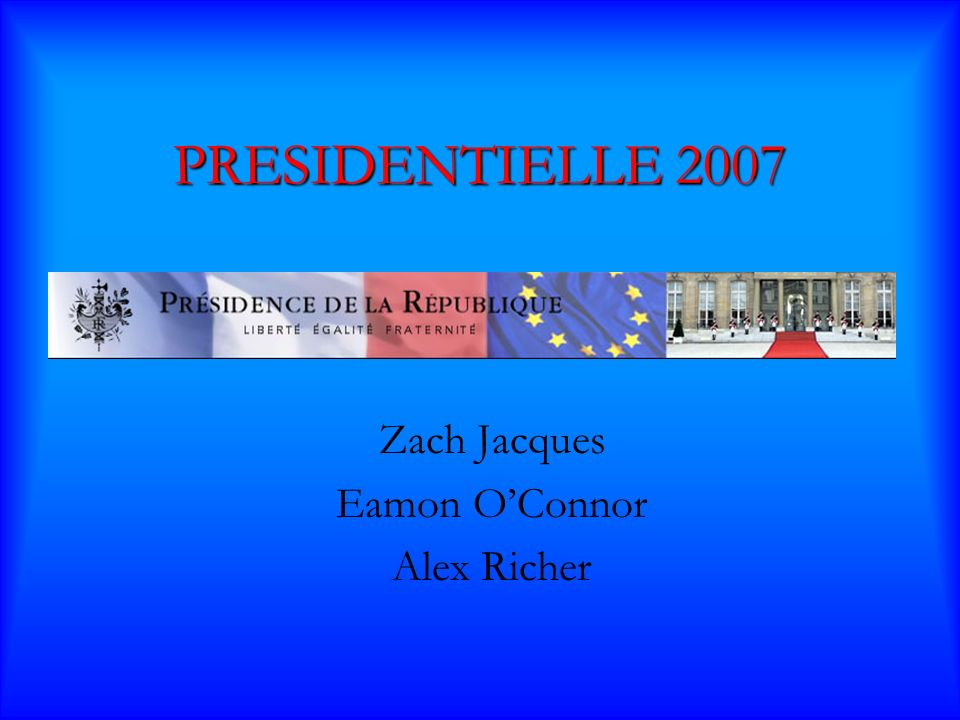 Qui sera Président? Sondage du 2 mai 2007 Ségo (46,5%) Sarko (53,5%)