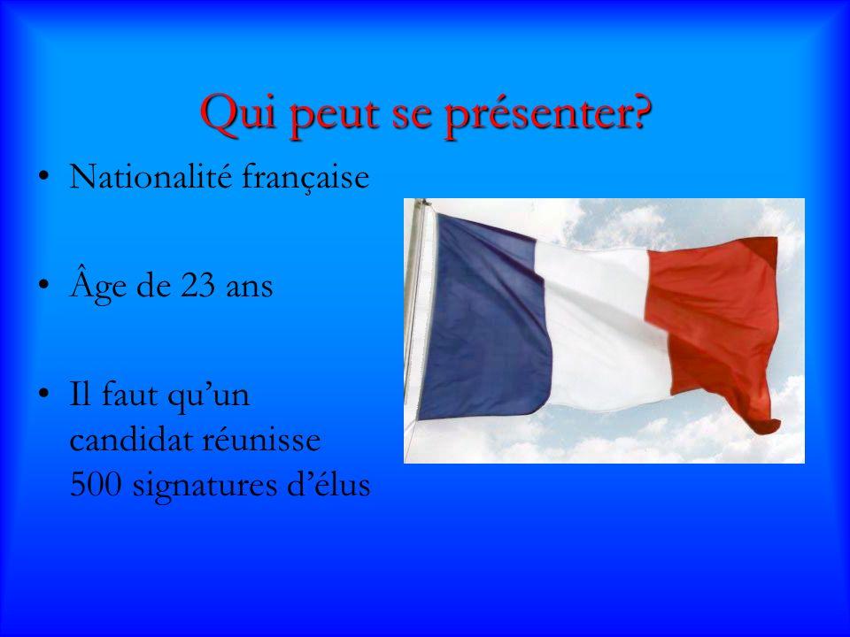 Les Résultats Le 6 mai, Sarkozy a gagné la plupart des élécteurs, avec 53% des suffrages, par rapport au 47% de Royal.