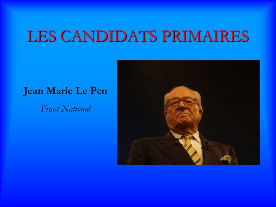 Jean-Marie Le Pen Jean-Marie Le Pen « Avec Le Pen, tous ensemble, revelons notre France » Il a 78 ans.