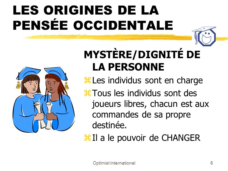 Optimist International16 Le volet planificateur du leadership zImaginatif zCréatif zLes symboles racontent une histoire zBesoin de comprendre et dexpliquer comment les choses fonctionnent zOrienté vers les détails