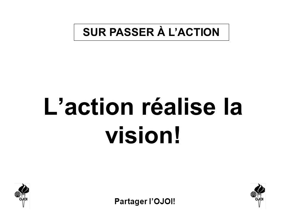Partager lOJOI! Laction réalise la vision! SUR PASSER À LACTION