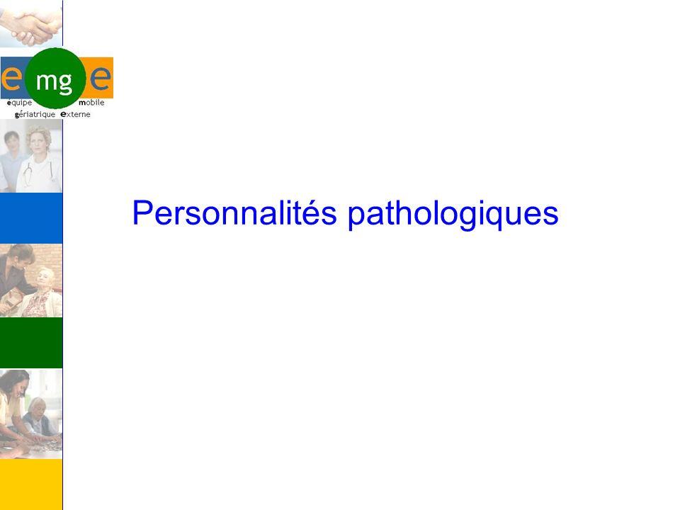 Personnalités pathologiques