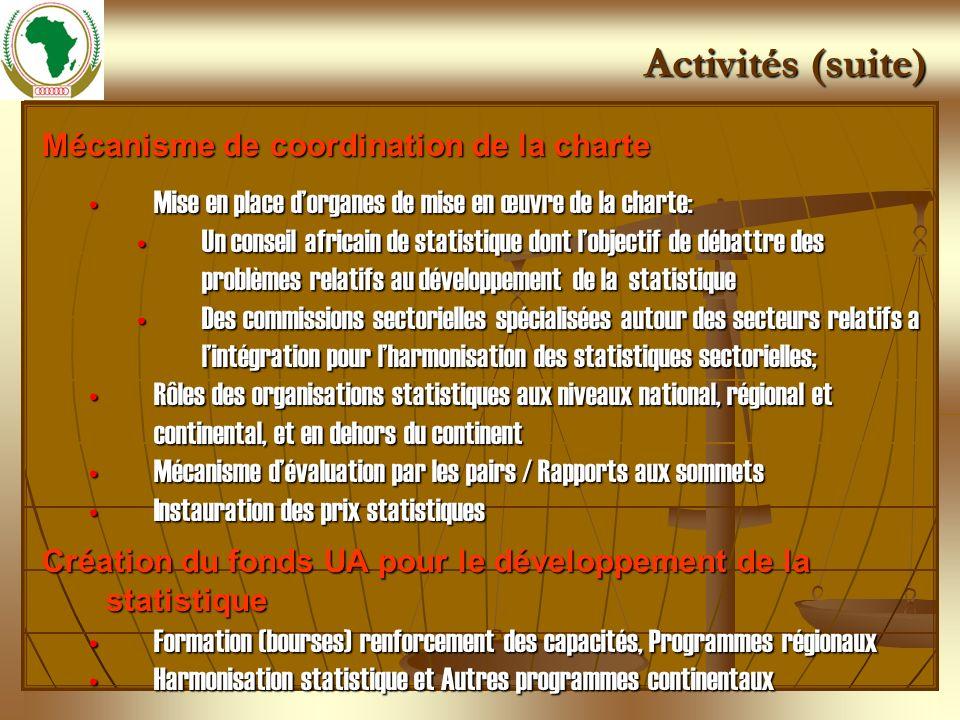 Mécanisme de coordination de la charte Mise en place dorganes de mise en œuvre de la charte:Mise en place dorganes de mise en œuvre de la charte: Un c