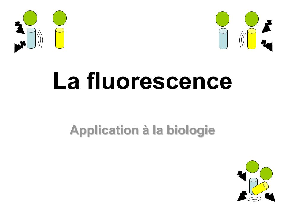 La fluorescence Application à la biologie