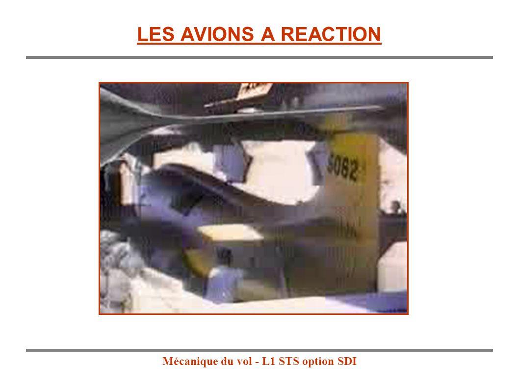 Mécanique du vol - L1 STS option SDI LES AVIONS A REACTION