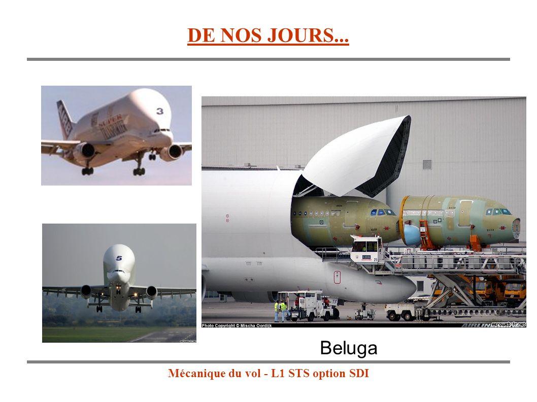 Mécanique du vol - L1 STS option SDI Beluga DE NOS JOURS...