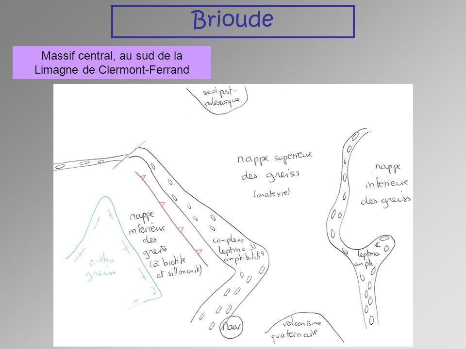 Brioude Massif central, au sud de la Limagne de Clermont-Ferrand