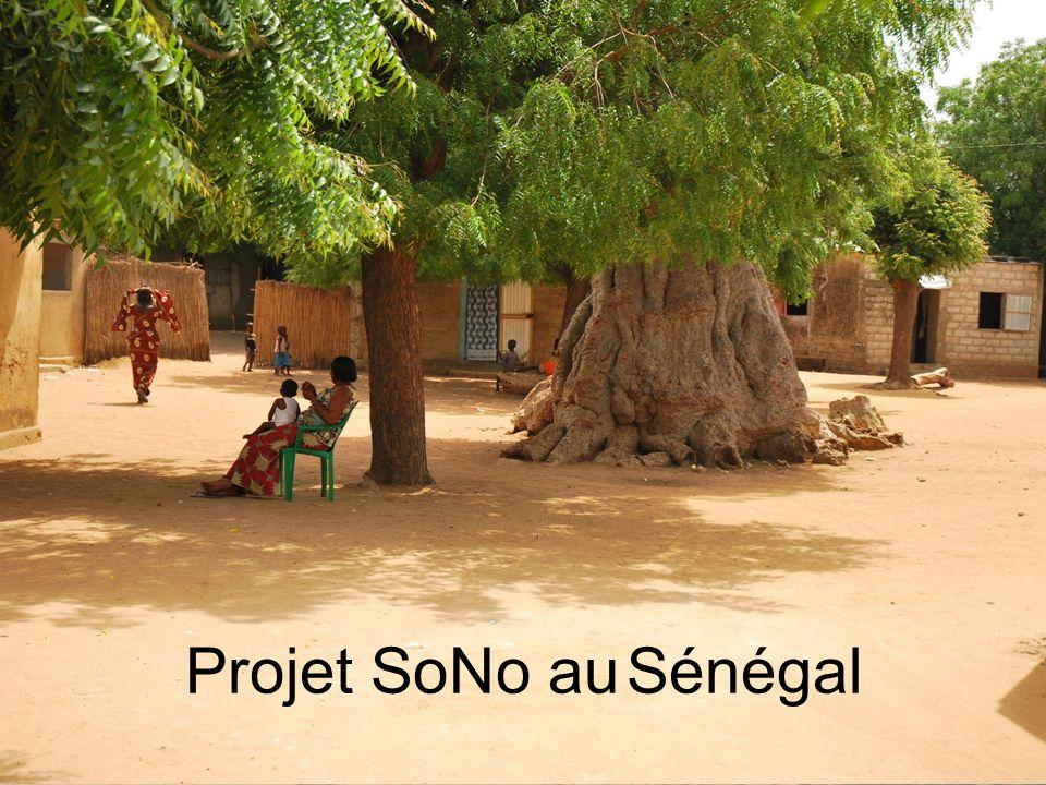 Projet SoNo au Sénégal