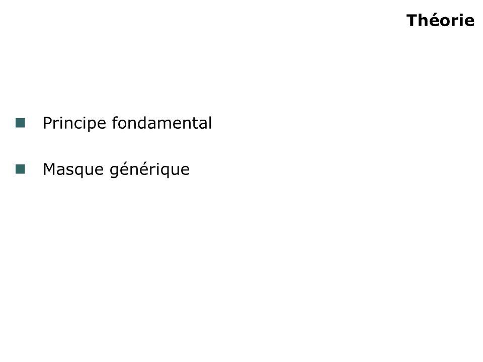 Théorie Principe fondamental Masque générique