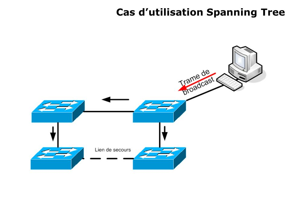 Cas dutilisation Spanning Tree